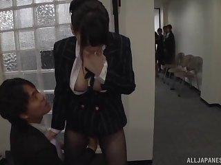 Оргия в японском офисе
