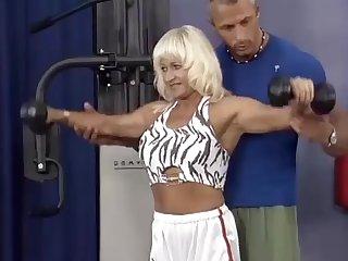german muscle mom sex training