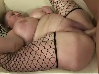 Daddy bangs his fat wife