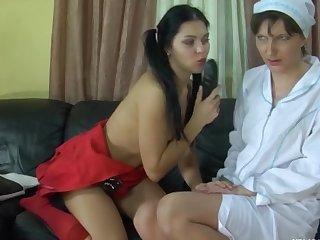 Linda and Muriel vivid lesbian mature action