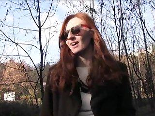 PublicAgent Naughty redhead fucked hard