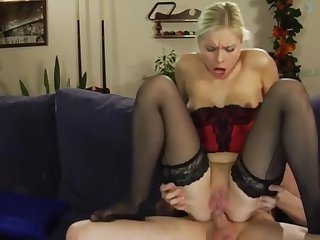 Virginia and Rolf passionate anal video