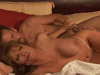 Blonde milf Darla Crane and big hard dick