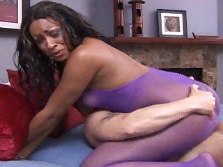 Bob fuck with sexy ebony Kaleah in her anal hole