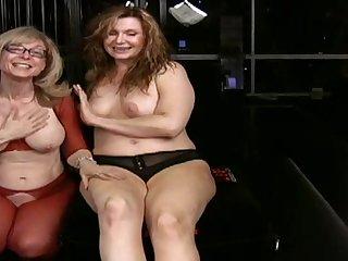 Sweet BDSM chicks in lingerie are having hardcore sex