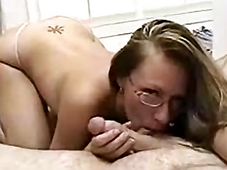 Naughty house lady is thinking about awesome blowjob