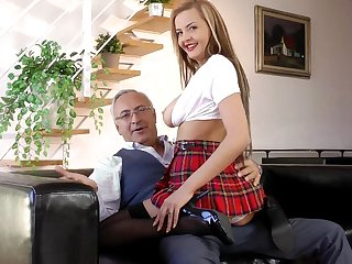 Sweetie Candy Alexa being fucked by teacher