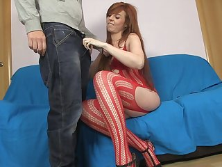 Bianca Resa is sucking a pretty nice dick
