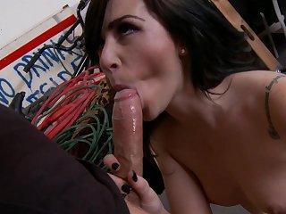Mick Blue fucks with brunette Crystal Carrera