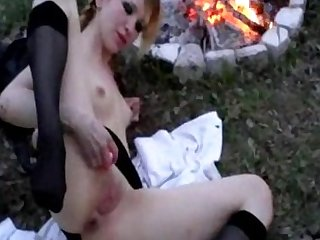 Sweetie Strawberry and her nice anal toys