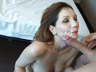 Ivana Rosano fucks with wide dick of Moisex
