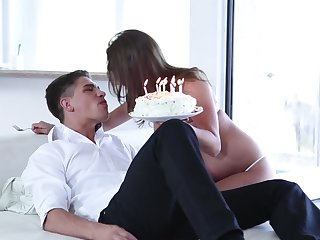 Lily Love is sucking dick instead of celebrating