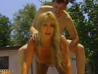 Blonde milf gets her pussy licked and hops on a meaty dick