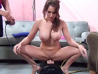 Big titty Kiera King riding on long hard cock