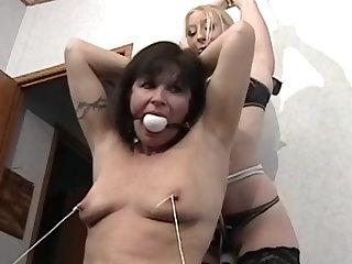 Mature BDSM video with a hot mils!
