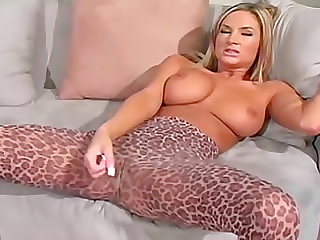 Amy Reid teases in pantyhose and talks dirty