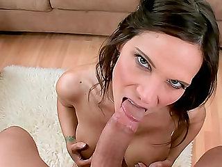 Dick down throat of MILF