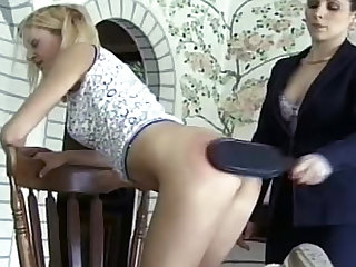 Erotic spanking makes those asses hurt