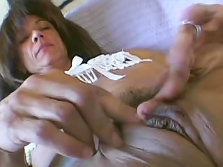 Milf with a major clit eaten out