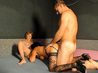 Mature sluts can't get enough of a big throbbing schlong