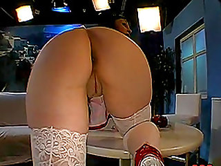 Watch our video compilation of stocking-clad porn stars with long stunning legs enjoying hardcore sex