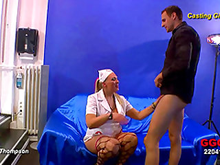 Two chicks and a guy have a crazy, cum splattering threesome
