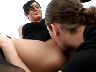 Anal on the curb