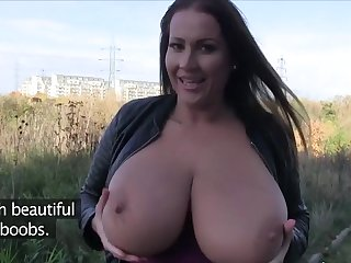 Massive hanging boobs from hungary