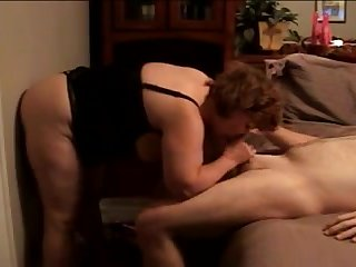 wife with her dildo attached to wall sucking me_240p