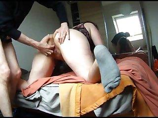 anal con su esposa