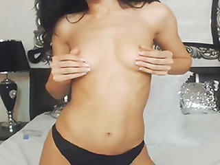 Gorgeous Naughty Shemale Babe Play Her Cock