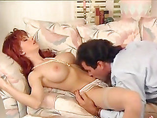 Busty redhead babe from last century
