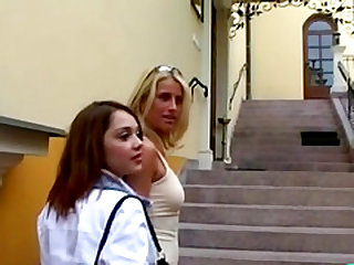 Katarina, Linda, Penelope, Sandra Mark having gangbang
