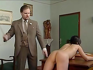 Teen girls getting spanked