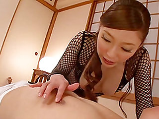 Shiraki Yuuko wears a nice outfit for her horny lover