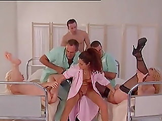 Orgy in the clinic