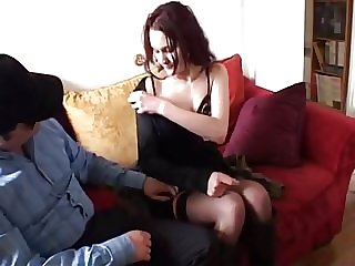 Anne analfucked in stockings by a fan of our website