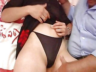 Sophie 24 fucked by an old guy