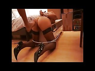 French ties submissive anal fuck