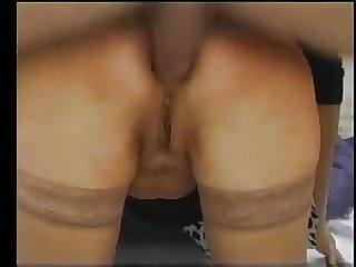 Anal pain for a french granny