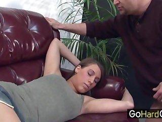 Her Daddy Wake for Fuck step Daughter Natasha Vega