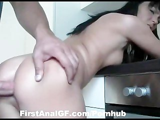 Horny Housewife get good old banging in ass