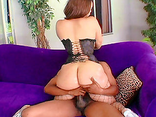Keisha Kamble is a honry with a massive booty who cannot resist a BBC