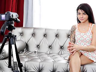 Sadie Pop. Casting porn video