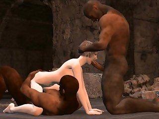 3D Cave explorer gets double banged