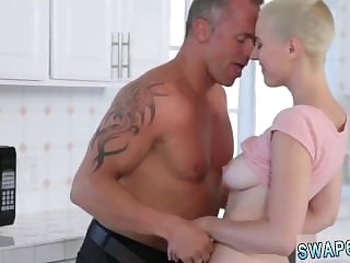 Amateur blonde mom hd first time Fatherly