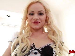 Pretty Teen Elsa Jean Pussy Filled