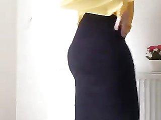 Hijab Turkish Booty and Dance kapali
