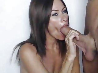 SUCKING A HUGE COCK