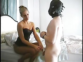 Milking His Prostate-Female Domination